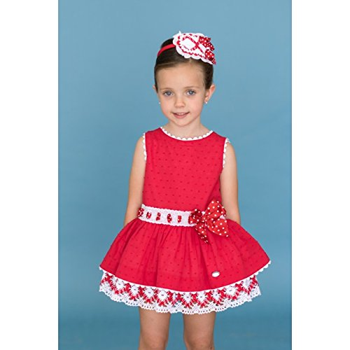 25132fddc0c2 Dolce Petit Children s Dress (Red 6Years) at Traditional Childrens Wear