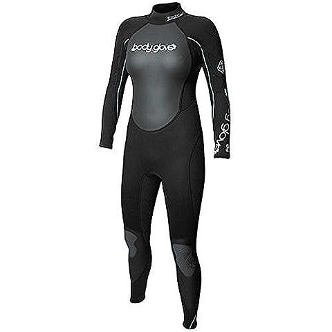 Ladies Adults Body Glove Method Full Length 3/2mm Neoprene Wetsuit (X-Small - (UK 6))