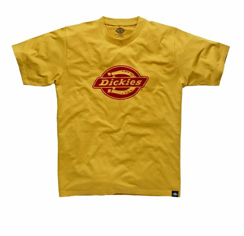 dickies-t-shirt-hs-one-colour-maglia-a-maniche-lunghe-uomo-giallo-gold-fusion-small-taglia-produttor