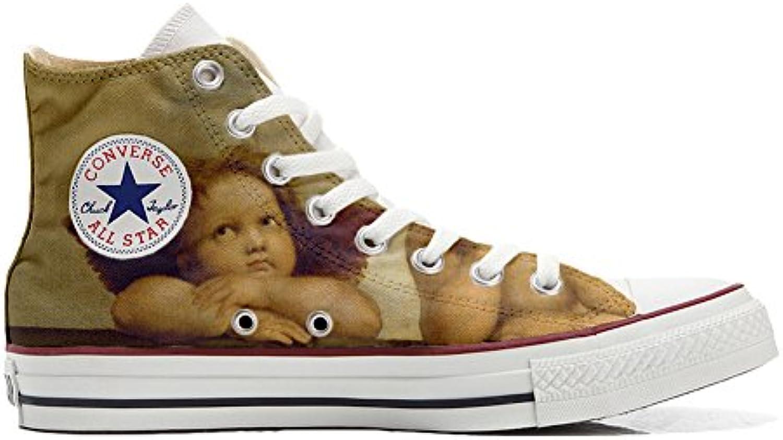 Shoes Custom Converse All Star  personalisierte Schuhe (Handwerk Produkt) Michelangelo