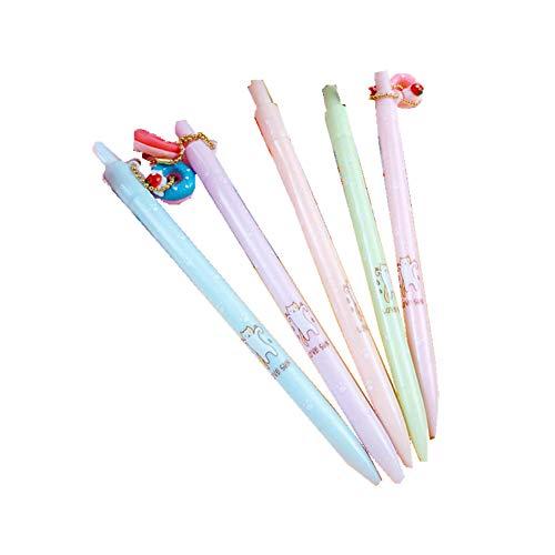 bleistift mit Reizender Dessertanhänger, 0.5mm automatische Bleistift, nette automatische Feder Stift 4er-Pack ()