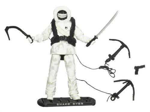 G.I. Joe Snake Eyes Arctic Assault - The Rise of Cobra - Actionfigur von Hasbro (Gi Joe Snake Eyes)