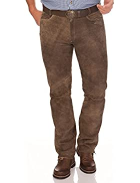 Lange Trachten Lederhose - ALDO - rehbraun