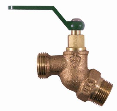 ARROWHEAD BRASS & PLUMBING 351QTLF 3/4 Male Iron Pipe x 3/4 Hose Thread, Hose Bibb by Arrowhead Brass & Plumbing -