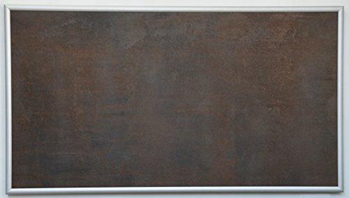 Schreibtischheizung'Steintherm Podo' aus Keramik copper brown/braun 60 x 40 x 3,5 cm / 130 Watt