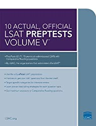 10 Actual, Official LSAT Preptests: 5 (Lsat Series)