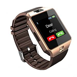 JIKRA Bluetooth Smart Wrist Phone Watch Compatible With Colors Mobile Xfactor Trend T-50 With Camera & Sim Card support