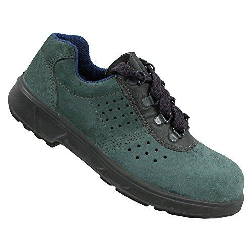Chaussures de sécurité s1P chaussures de travail vert berufsschuhe plat imperfections Vert