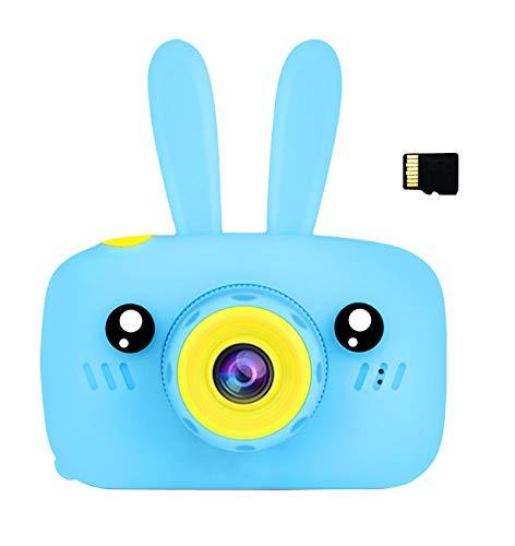 SKays Kinderkamera Kamera für Kinder Mini Dual KameraMit Schlüsselband Fotoapparat Digitalkamera Geschenk Spielzeug für Jungen Mädchen ab 3 Jahren (Blau) (Jungen Für Kinder-digitalkamera)