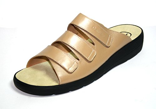 Ganter Selina 3-20 2900 Damen Schuhe Pantoletten, Weite F Beige (Sand)