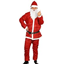 6-teiliges Filz Set santa claus Mütze Stiefel Weihnachten Nikolaus christmas