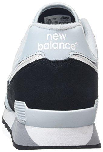 New Balance U446v1, Baskets Mixte Adulte Noir (Black/blue)