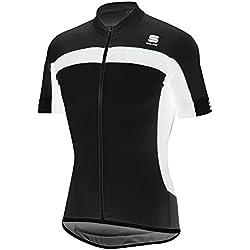Sportful - Pista Longzip Jersey, Color Negro, Talla L