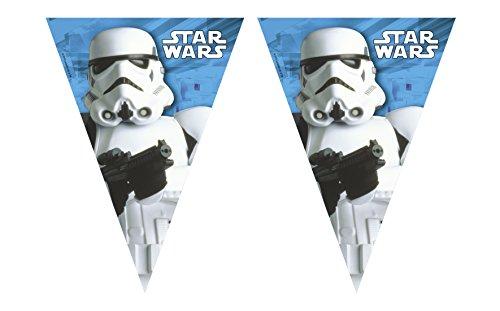 Generique - Guirlande fanions Stormtrooper Star Wars