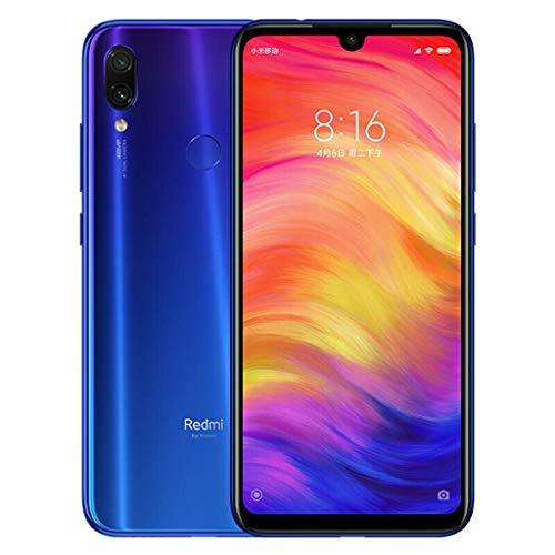 Wokee für Xiaomi Redmi Note 7 Global 64ROM 6.3 Vollbild 48.0MP Smartphone - Unlocked Global Version -