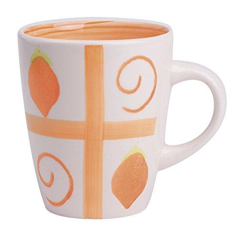 Excelsa Fruit Passion Mug Oranges 390 ML, Céramique, Oranges Orange, 11 x 11 x 9 cm