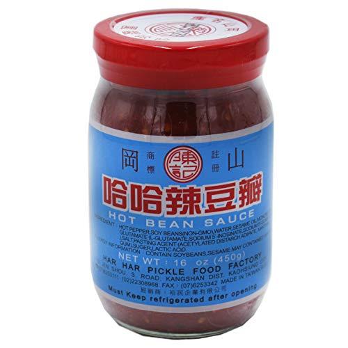 Taiwan Hot Bean Sauce Chinesische scharfe Bohnensauce 450g
