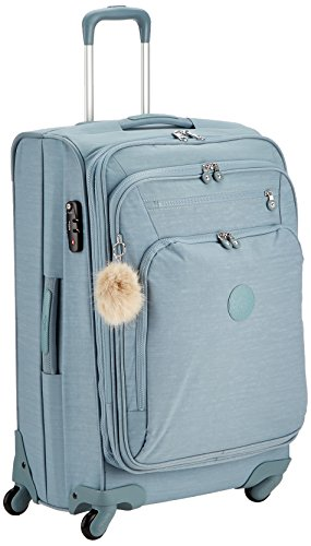 Kipling YOURI SPIN 68 Bagage cabine, 71 liters, Bleu (Dazz Soft Aloe)