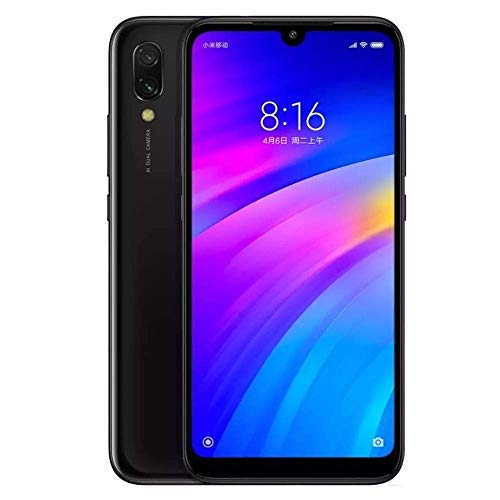 Xiaomi Redmi 7 3 GB 32 GB Dual SIM 4G Black - Global version, Smartphone (15,9 cm (6,26 inch), 720 x 1520 Pixeles, 12 MP, 4000 mAh,)