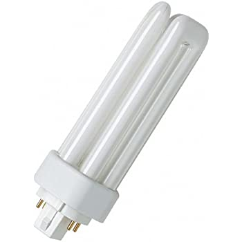 osram dulux plus compact fluorescent light t e 13 w 840 gx24q 1 cool white lighting. Black Bedroom Furniture Sets. Home Design Ideas