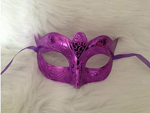 HOUSE CLOUD Damen Kostüm Karneval Maske Veneziane (ROSA)