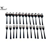 Varsha Stainless Steel Spoon Set Of 24 Pieces.