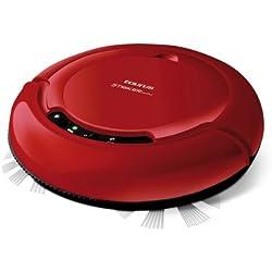 Taurus Mini Striker - Robot aspirador, 19V, diámetro 23.5 cm, autonomía 75 min, color rojo