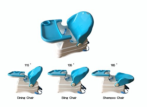 Bey Bee - Booster Chair For Babies / Toddlers Feeding High Chair With Tray- 2-in-1 (Blue)