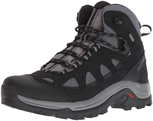 Salomon Authentic LTR GTX, Scarpe da Escursionismo Uomo, Grigio (Magnet/Black/Quiet Shade), 44 EU