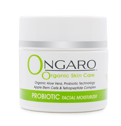Ongaro Organic Facial Moisturizer; Best Day/Night Cream for Anti-Aging, Anti-Wrinkle, and Uneven...