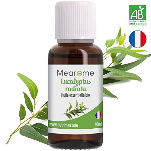 30 ML Huile essentielle d'EUCALYPTUS RADIÉ (Eucalyptus radiata) BIO - 100% Pure et...