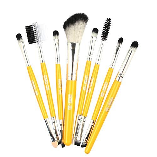 Makeup Brushes,Professionnelle Kits ,8Pcs Fondation en Bois CosméTique Sourcils Fard à PaupièRes Brosse Maquillage Pinceau Ensembles De Outils Makeup Brushes Brush Beauté Maquillage