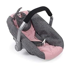 Bayer Chic 2000 708 15 - Asiento Infantil para muñecas, Color Gris y Rosa