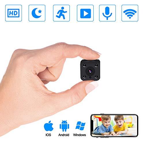 Cámaras espía, PiAEK 1080P HD Cámaras vigilancia
