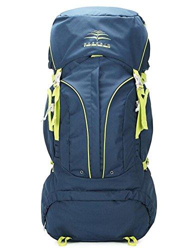 sac à dos randonnée sacs de montagne en plein air voyagent sac à dos sac à bandoulière hommes et les femmes Sacs à dos de randonnée ( Couleur : Bleu , taille : 60 l )