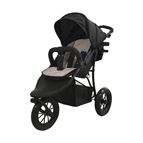 knorr-baby 883062 - Passeggino sportivo Funsport3, colore: Nero/Grigio/Grigio