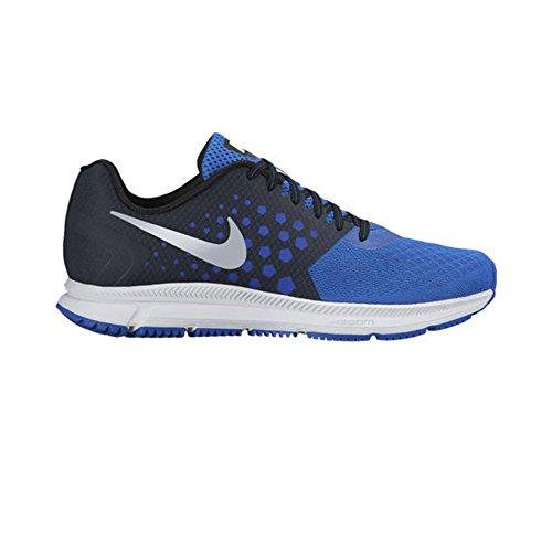 Nike Performance Mens Scarpe Da Corsa Nere (nero / Iper Cobalto / Azzurro / Argento Metallizzato)