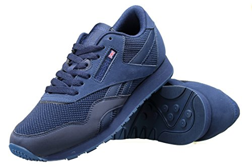 Sneakers Reebok Homme Bleu Basses Classic Jouir Mix Nylon Tech RAPqIAYr