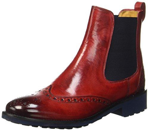 Melvin & Hamilton Damen Amelie 5 Chelsea Boots, Rot (Red), 40 EU