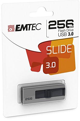 Emtec-B250-Slide-256GB-USB-30-31-Gen-1-Type-A-Gris-unidad-flash-USB-Memoria-USB-USB-30-31-Gen-1-Type-A-Windows-10-Home-Windows-2000-Windows-7-Home-Premium-Windows-8-Windows-ME-Windows-Vista-Home-Pre-S