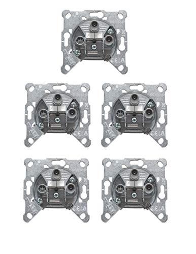 Triax EDS 322 F 3-Fach Antennen Twin Satdose (5 Stück)