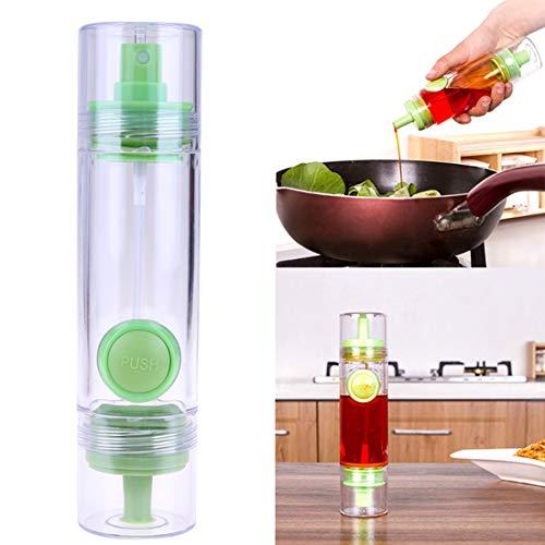 FineInno Dispensador Pulverizador Aceite Botella Spray Aceite Cocina Dispensador Aceite Embudo Botellas Reutilizables para Asar, Ensalada, Freír,Aprobado por la FDA, Sin BPA