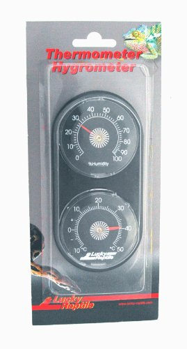 Lucky Reptile LTH-22 Analoges Thermometer und Hygrometer