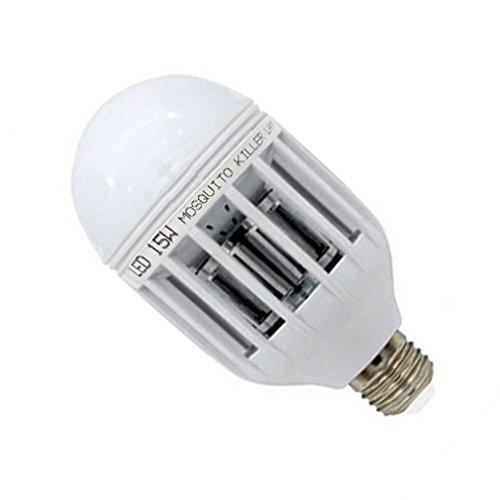OurLeeme Glühlampe E27 LED Mückennetz elektronisches Licht Notte Insektenabwehr Flies