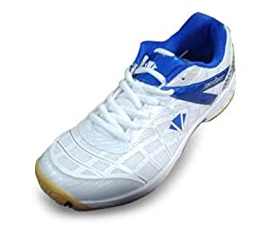 Carlton Play W20 White/Blue Shoes (EURO 41)