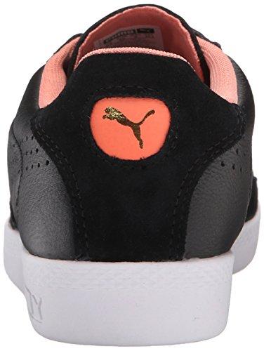 Puma Spiel Lo Grund Sport Sportstyle Sneaker Black/Desert Flower