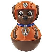 Paw Patrol – Weebles – Zuma – Figura Tentetieso de la Patrulla Canina 5 cm