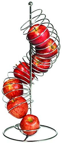 Tablecraft Frutero Spiral Vertical | De frutas de almacenamiento vertical, dispensador de frutas