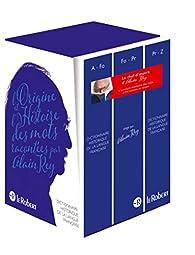 Le dictionnaire historique de la langue française par Alain Rey
