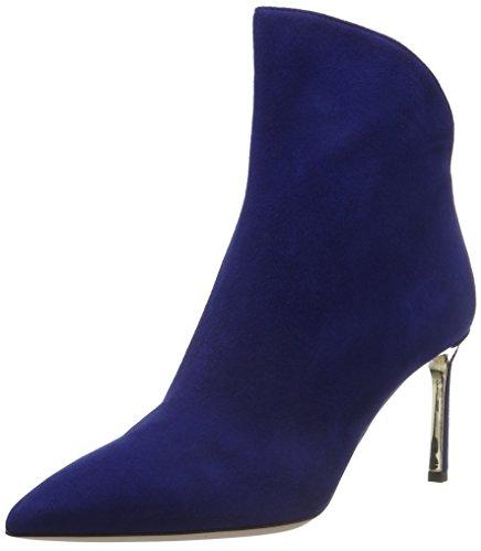 Sebastian S7121, Bottes Classiques femme Bleu - Blau (Camble/Oro)